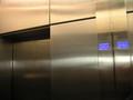 エレベーターの表示もTV塔デザイン