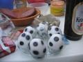 サッカーボールゆで卵
