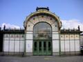 オットー・ワグナー設計のシュタットバーン駅舎