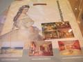 宮殿の内部がプリントされたお土産袋。親切