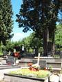 スロベニアのお墓は美しい