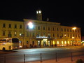 夜のリュブリャナ(スロベニアの首都)