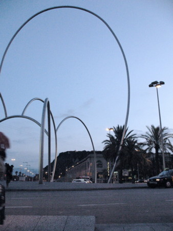 夕暮れバルセロナ