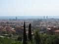 バルセロナ一望