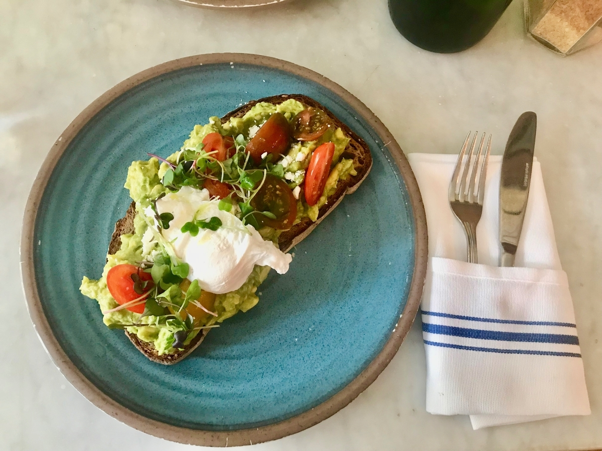 nyc avocado toast cafe
