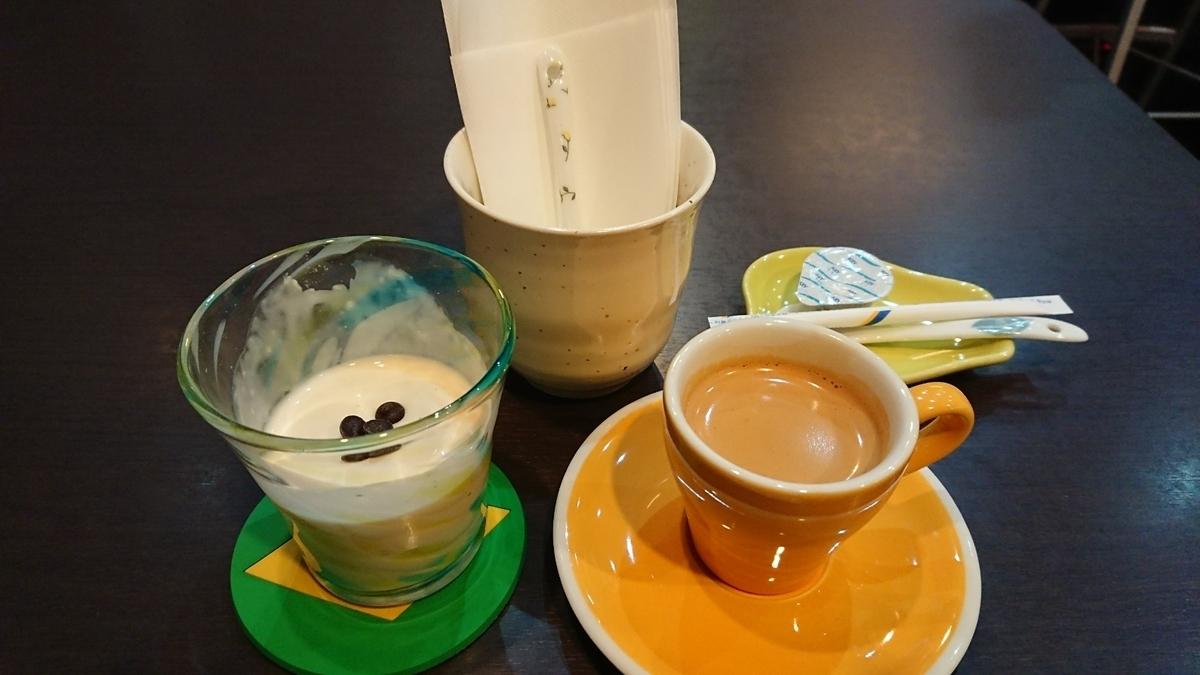 白いコーヒーゼリー