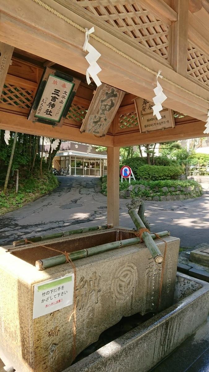 太平山三吉神社の創建からこれまで