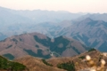 大平戸山を越える安曇幹線1号線 頂上が214、中腹は215