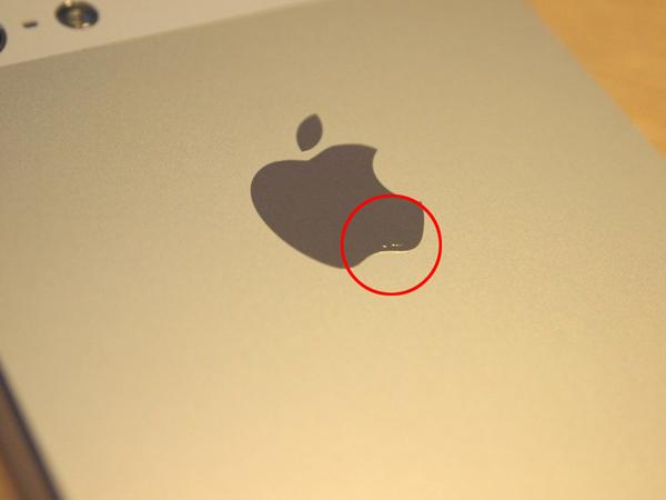 iPhone 5 の傷