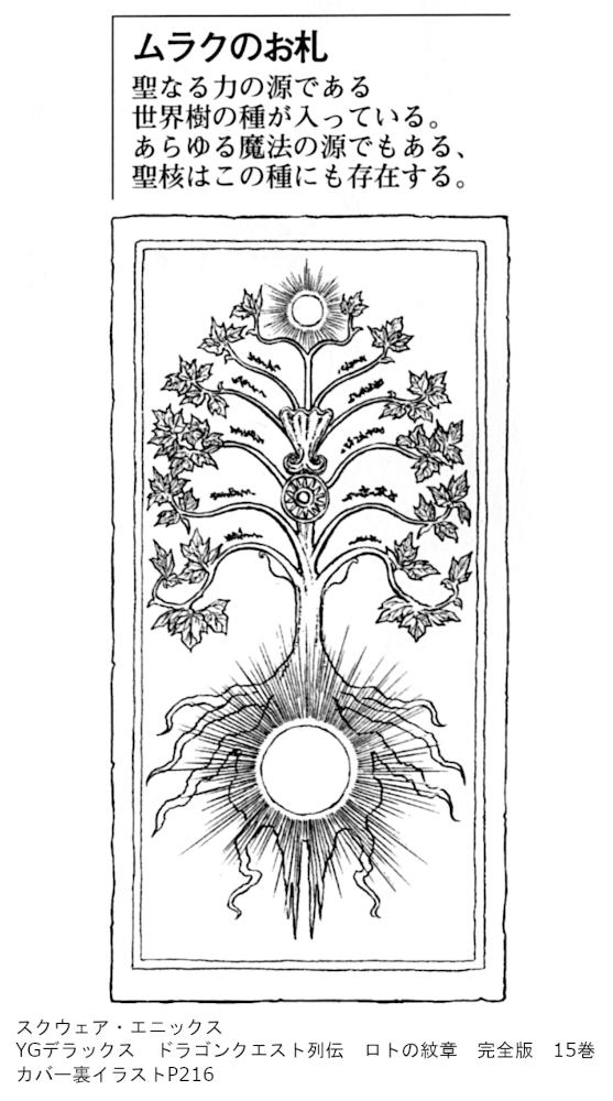 スクウェア・エニックス YGデラックス ドラゴンクエスト列伝 ロトの紋章 完全版 15巻カバー裏イラストP216