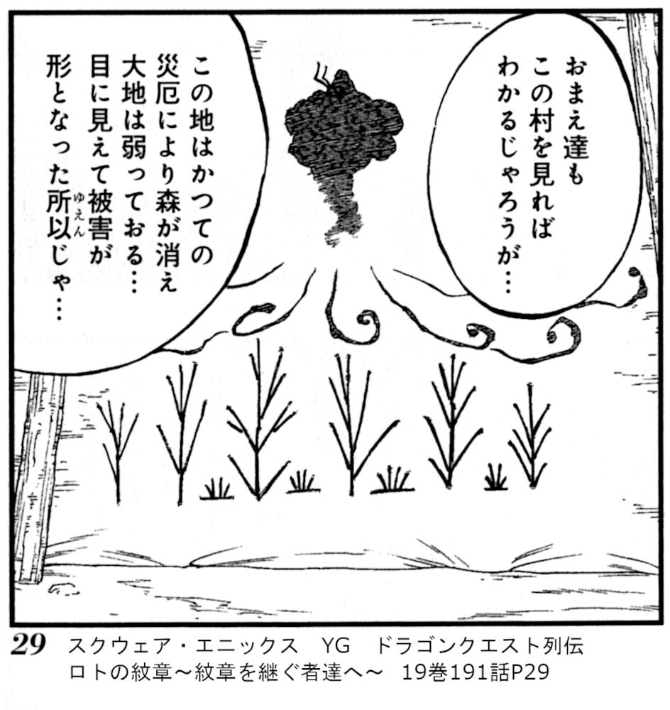 スクウェア・エニックス YG ドラゴンクエスト列伝 ロトの紋章~紋章を継ぐ者達へ~  19巻191話P29