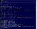 [はてなダイアリー]Ricty regular 10 - Vim / filetype=lisp : Ubuntu11.04