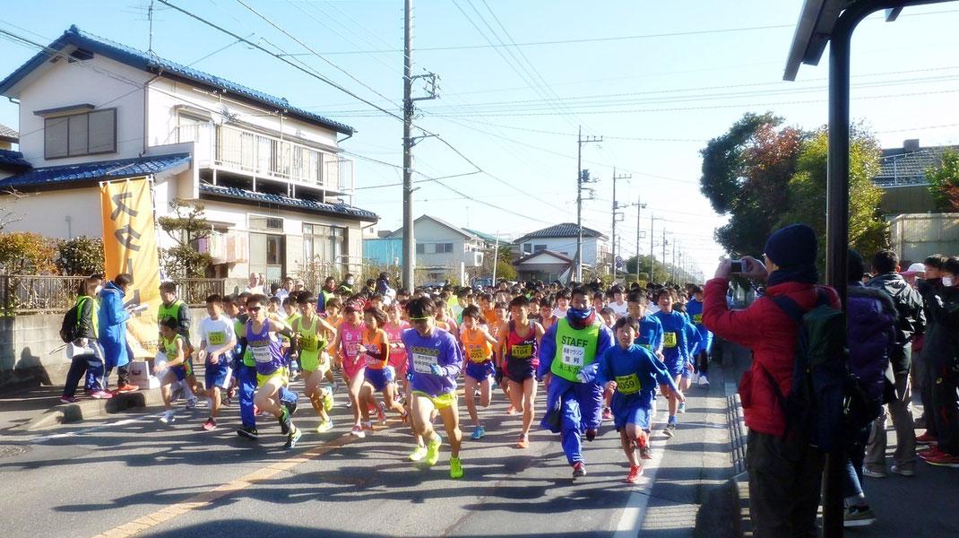 我孫子市新春マラソン2020