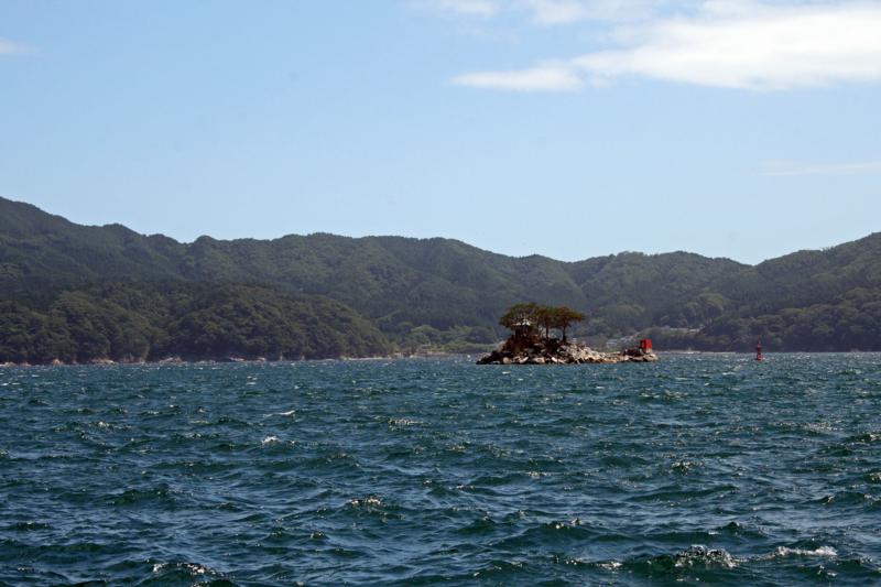 岩手県・大槌町・蓬莱島(ひょっこりひょうたん島)