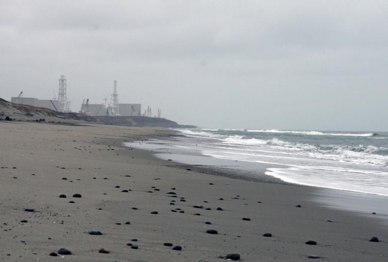 静岡県・浜岡砂丘から原発