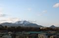 伊達市街から有珠山-12.06-