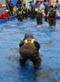 大槌鮭帰願祭・鮭つかみどり12.12