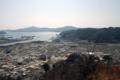 大槌町・城山展望台から大槌湾-13.05-