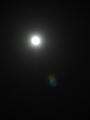 満月の仲秋名月(吾が家)-13.09-