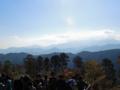 高尾山頂からの眺望-13.11-