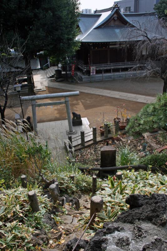 (新宿区)鳩森八幡宮・富士塚-3-13.11-