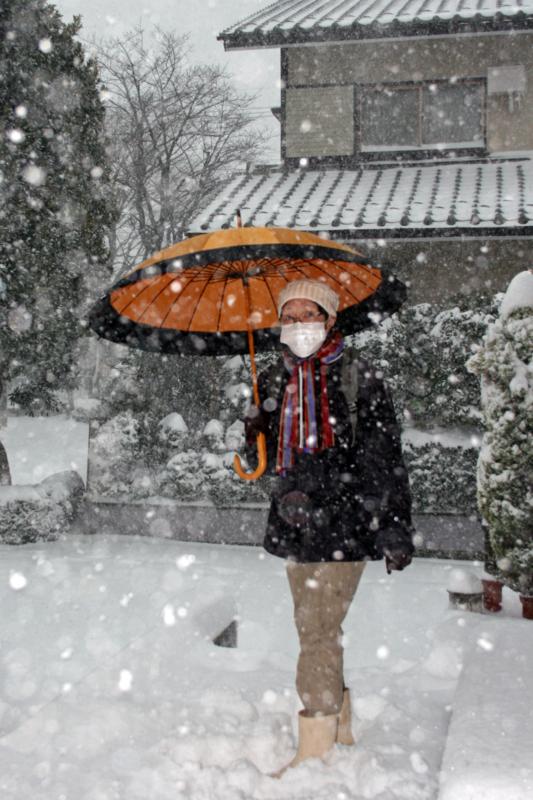 大雪(わが家)・冨喜子-14.02-