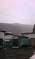 春の雪(渡島福島)