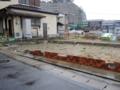 《3.11》津波被害痕(北茨城市平潟港)-1-14.04