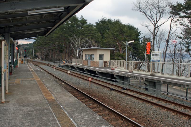 三陸鉄道・北リアス線・野田玉川駅(野田村)-1-14.04