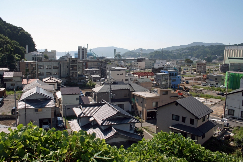 仙寿院から釜石港方面(釜石)-1-12.08
