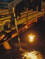 シラスウナギ漁(相模川河口)-93.03-