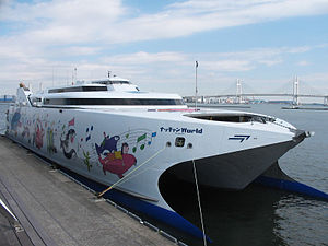 津軽海峡フェリー「ナッチャンWorld」