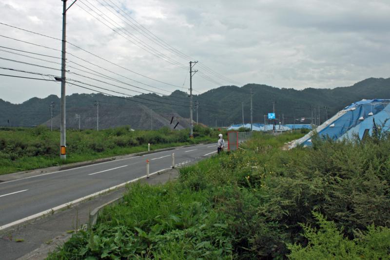 鵜住居の盛土(釜石)-1-14.09