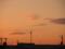 津軽海峡フェリー(函館港)朝焼け-1-14.09