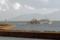 奥尻港を出て行くハートランドフェリー(奥尻島)-1-14.09