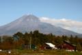 ホールアース自然学校からの富士-1-14.11