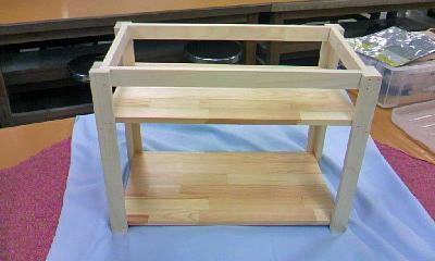 木工教室・作品
