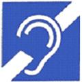 聴覚障害者マーク(国際)