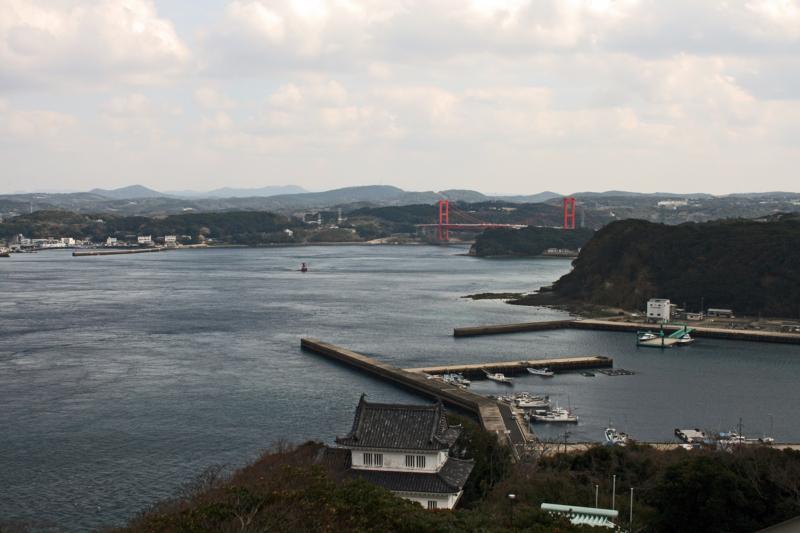 平戸城から平戸大橋(長崎)-1-15.03