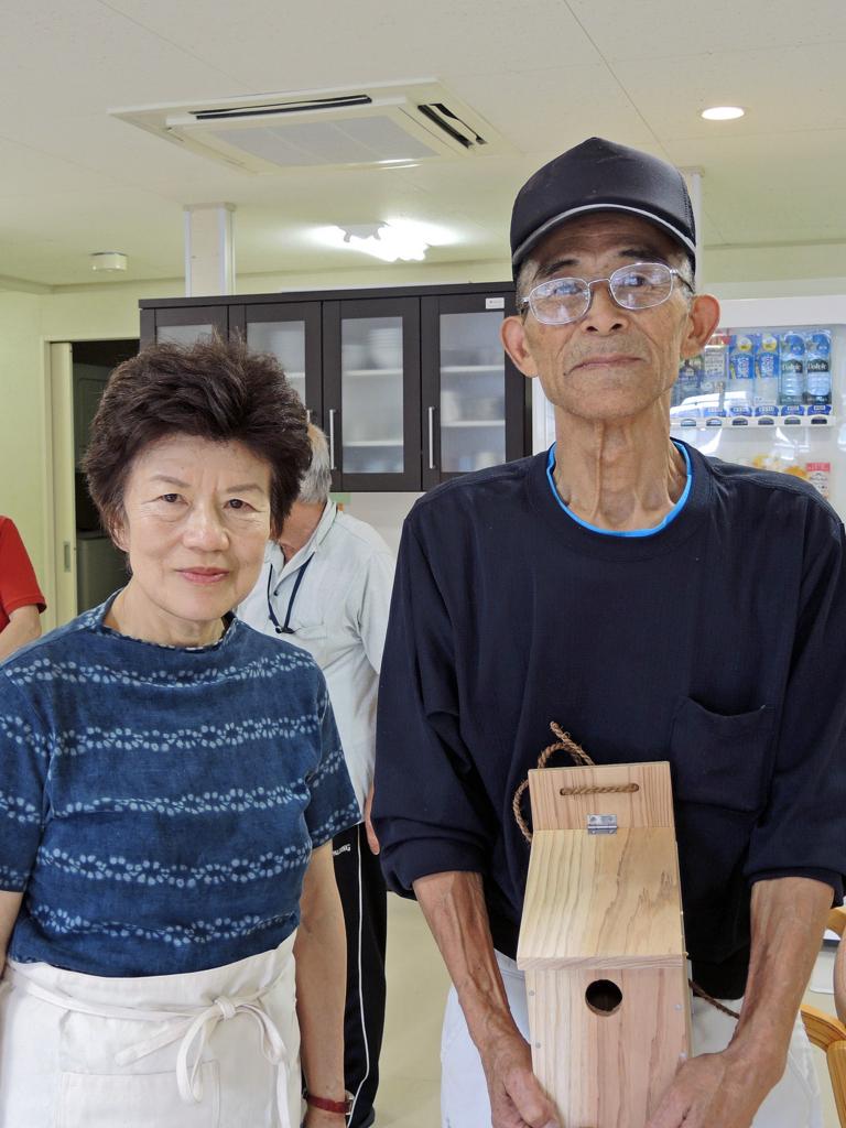 巣箱づくり・和野っこハウス(大槌町)-9-15.08
