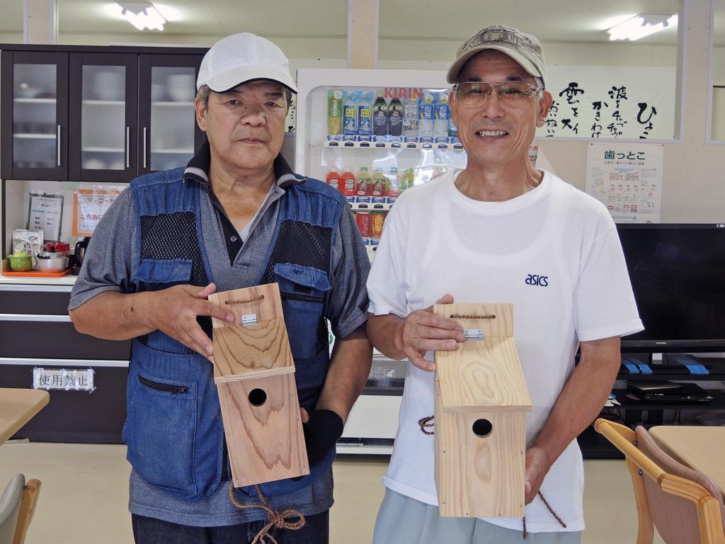 巣箱づくり・和野っこハウス(大槌町)-10-15.08