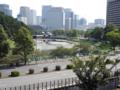 憲政記念館から皇居-1-15.09
