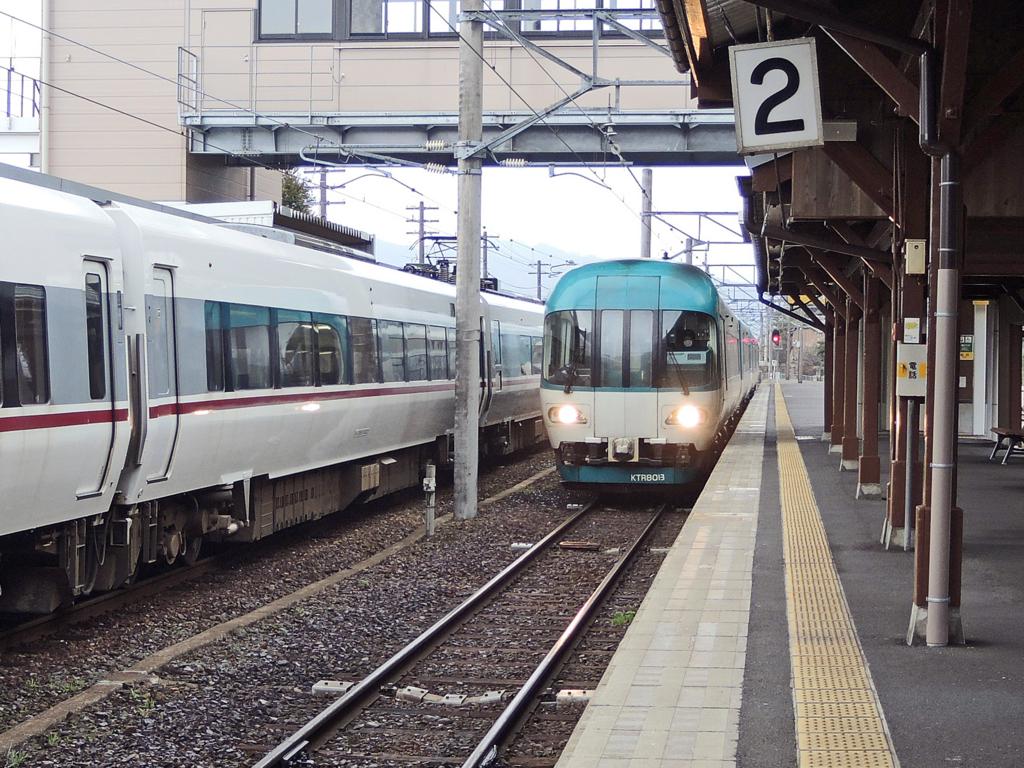 天橋立駅(京都府)特急はしだて号-1-16.03