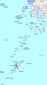 南西諸島(地図)