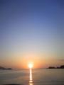 浪板海岸の朝日(大槌町)