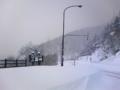 雪の三国峠(上士幌町)16.11