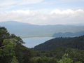釜伏山から恐山(むつ市)-1-16.09