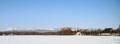 雪の牧草地(上士幌町)-6-16.11