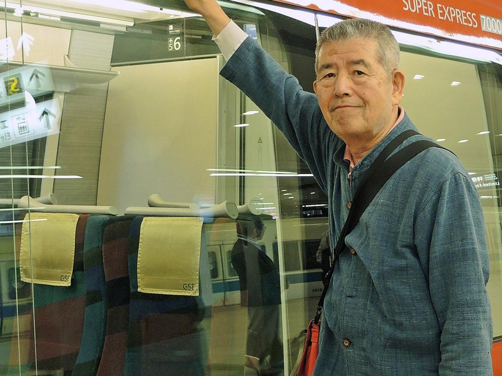 小田急ロマンスカーGRE-1-