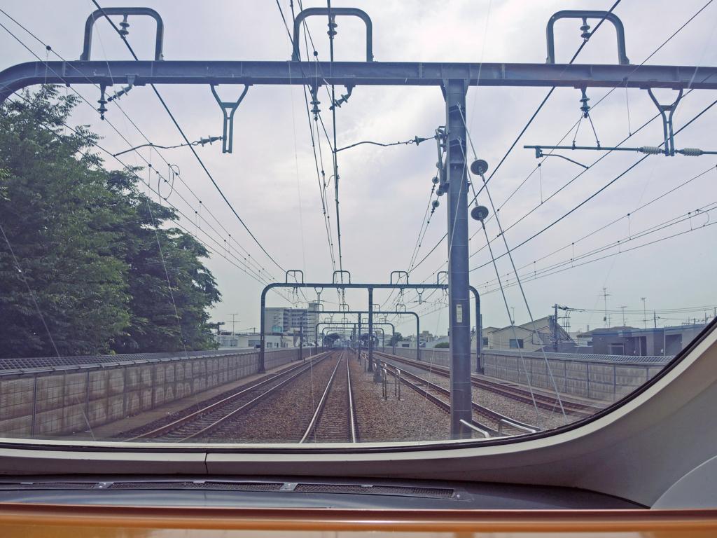 小田急ロマンスカー(車窓風景)-1-